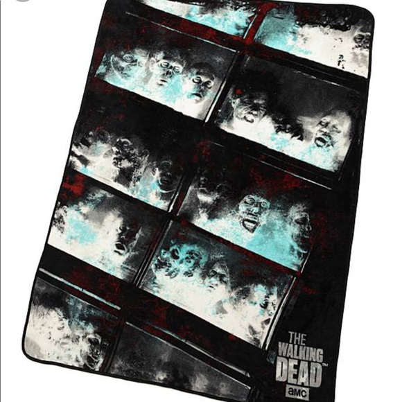 Walking Dead Throw Blankets Inspiration Accessories The Walking Dead Throw Blanket Poshmark